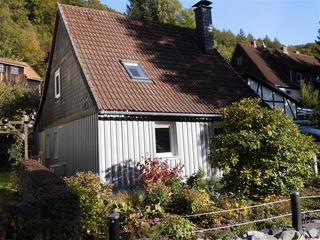 Ferienhaus Zur Eule SORGENFREI BUCHEN* Haus von außen
