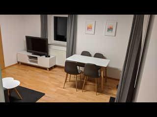 Moderne Ferienwohnung Ulm Wohnzimmer