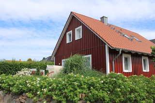 Ferienhaus Nordic Red Südseite