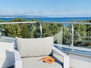 Penthouse / Dachterrasse PIER 5.4 Lounge-Sessel