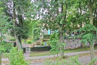 Ferienwohnung Lychen UCK 1021 Blick auf das Wohngrundstück