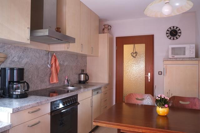 Küche in Fewo 1