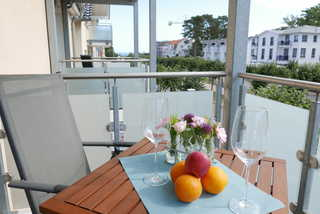 Baabe Ferienwohnung Meerflair Ref. 205861 u 1 Ausblick vom Balkon