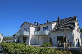 F: Haus Düne Whg. 01 mit Südterrasse Außenansicht