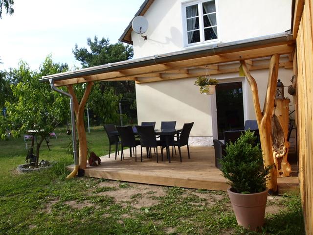 Überdachte Terrasse FH72m²