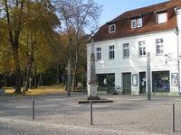 Ferienwohnung Lübben/Spreewald zur Postsäule Vorderansicht