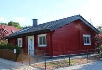 Schwedenhaus am Senftenberger See Schwedenhaus/Straßenseite