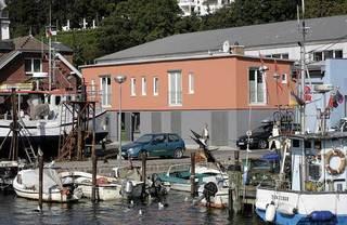 Ferienwohnung - Kutterfisch - direkt im Stadthafen