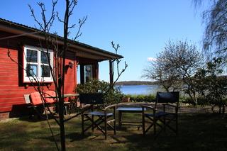 RED Ferienhaus am Bistensee - Sorgenfrei buchen Haus direkt am See