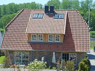 Fachwerkhäuser Seedorf F 591 Haushälfte Lena Victoria Die Haushälfte Lena Victoria der Fachwerkhäuser...