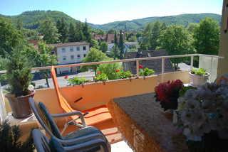 Ferienwohnungen Pöttner Balkon