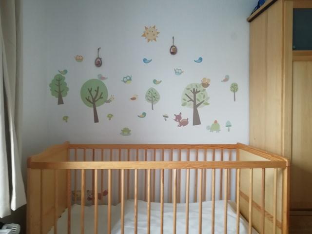 Kinderbett im 1. Schlafzimmer Krähennest
