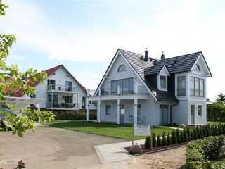 Haus Prignitz Whg. Storch Haus Prignitz - Blick auf das Haus von der Sees...