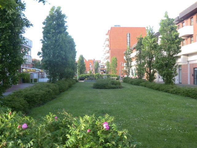 Idyllische Fußgängerzone in Schillig