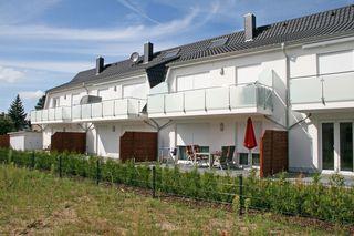 MZ: Haus Sanddorn Whg. 01 mit Terrasse Süd/West Außenansicht