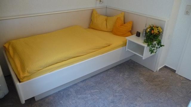 Einzelschlafzimmer in der Wohnung Sommerwind