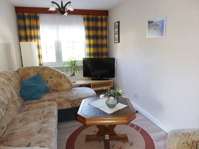 Ferienhaus Wohnzimmer