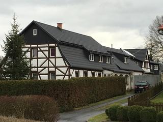 Ferienhof Homann Ansicht von der Straße