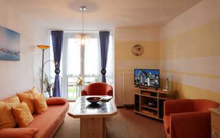 Ferienwohnung 54RB7, Haus Strandstraße Wohnbereich