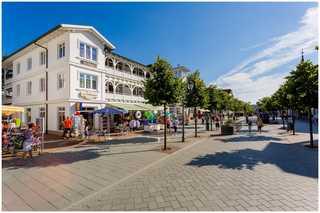 Villa Hildegard-Strandnähe-Balkon-im Zentrum von Binz/5