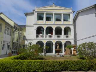 Ferienwohnung Villa Bella Rosa im Ostseebad Binz auf Rügen Außenansicht Villa Bella Risa