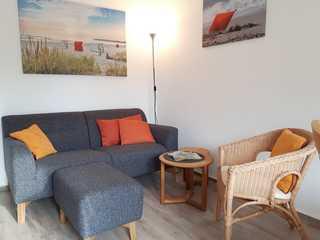 Ferienwohnung Boje 2 - Sorgenfrei buchen Wohnzimmer