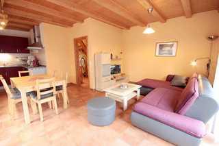 Ferienhaus Birr Wohnbereich