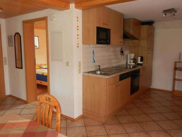 """Küche im der Wohnung """"Alpenblick"""""""