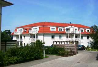 Residenz Strandkrone 09 Einfahrt zur Strandkrone von der Poststraße