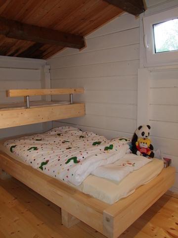 Schlafkammer mit Etagenbett