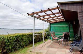 DEB 015 Ferienwohnung mit Garten und Sundblick n. Stralsund Ferienwohnung mit Garten und Sundblick