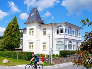 Villa Sanssouci F568 WG 1 im EG mit Loggia + Garten Die Villa Sanssouci im Ostseebad Sellin