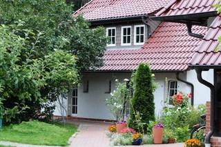 Altes Lotsenhaus Thiessow Außenansicht