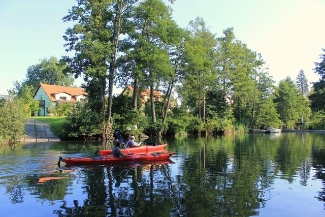 Kanufahren auf dem Bolter Kanal