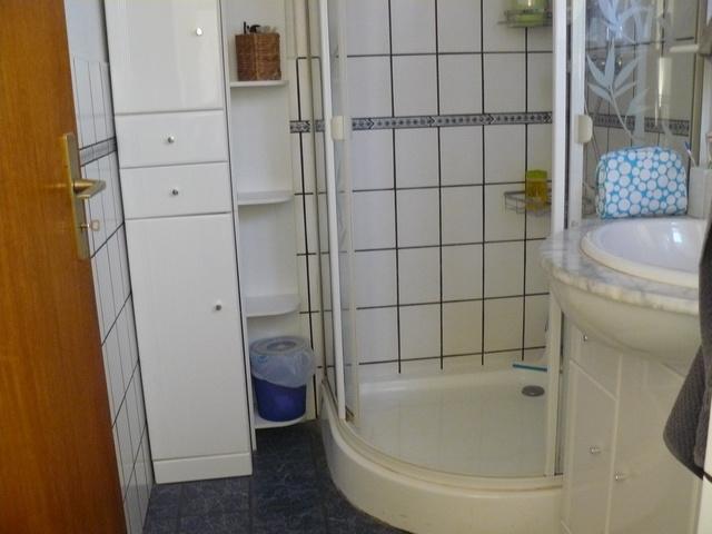 WC Dusche Waschbecken
