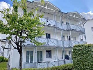 P: Villa Buskam Whg. 21 mit Südbalkon Außenansicht