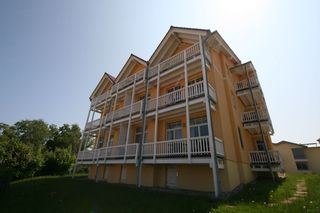 MI: Villa Bergfrieden 3 & 4 Sterne Wohnungen mit Meerblick Außenansicht