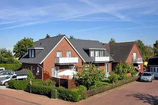 Ferienwohnungen im Haus Seekieker in Bensersiel Außenansicht