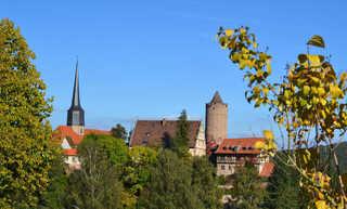 Hinterburg Schlitz - Ferienappartements Hinterburg Schlitz mit Hinterturm