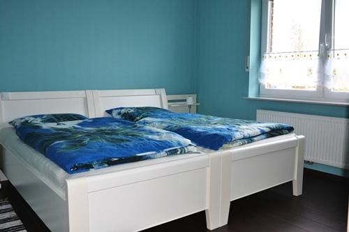 Doppelbett seniorenfreundlich erhöht