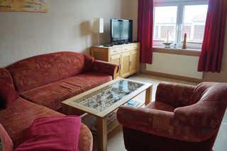 Ferienwohnung Frömming - in zentrale Lage Wohnzimmer