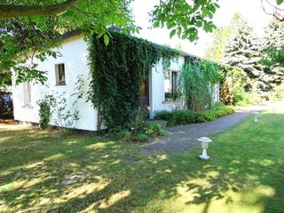 Ferienhaus mit großem Garten Das kleine Ferienhaus in Bodstedt