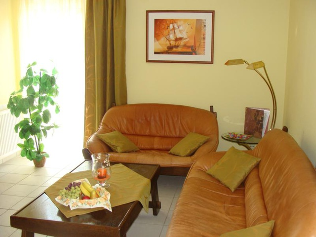 Wohnzimmer Ferienwohnung 10