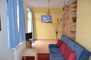 Ferienwohnung Marina 8/GLAS Wohnzimmer
