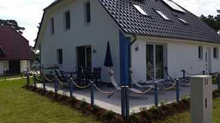 Kölp - Hanna Ferienhaus mit Terrasse