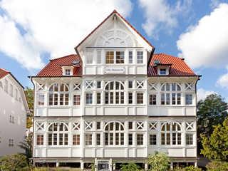 Villa Malepartus F608 WG 9 kleines Penthouse unterm Dach Villa Malepartus im Ostseebad Binz