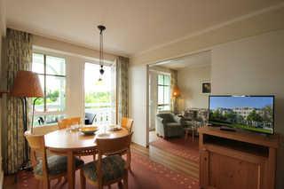Ferienwohnung 60RB654, Seepark Sellin Wohnbereich