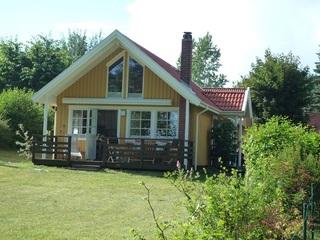 Ferienhaus zum Krakower See Außenansicht
