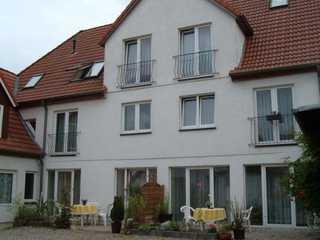 Ferienwohnungen Haus Angela, A. Möller Hausansicht, hofseitig
