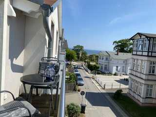 Weiße Düne WE 10 Balkon